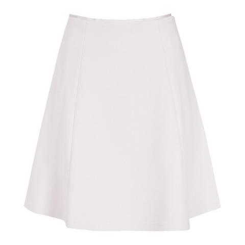 Reiss Grey Joanie Jersey Circle Skirt