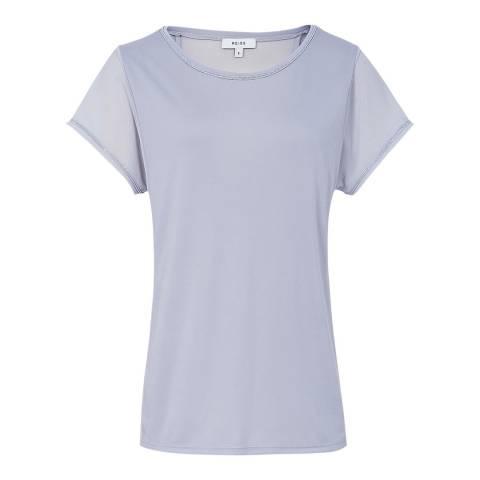Reiss Ice Blue Afarin T-Shirt