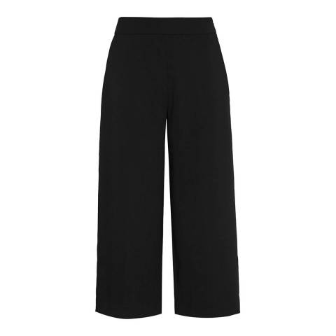 Reiss Black Poppy Straight Culottes