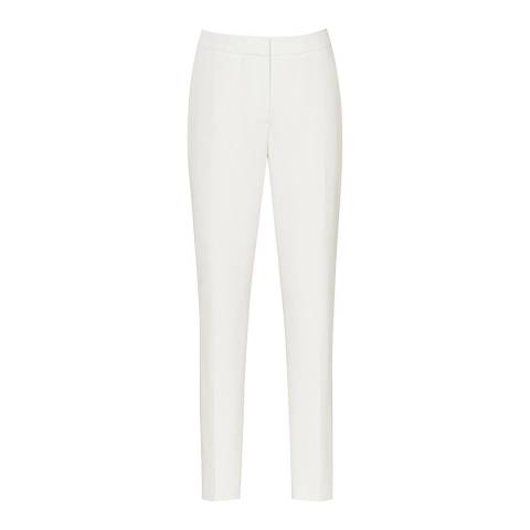 Reiss Off White Roc Slim Trousers