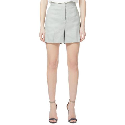 Reiss Light Green Maddie Tailored Shorts