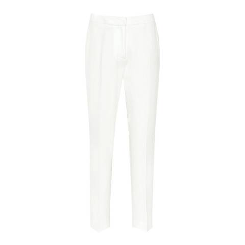 Reiss Off White Myla Tailored Trousers