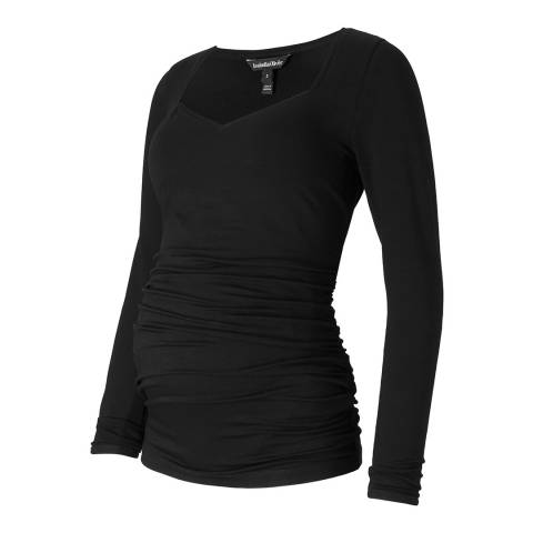 Isabella Oliver Black Angie Maternity Top