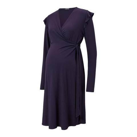 Isabella Oliver Navy Alma Maternity Dress
