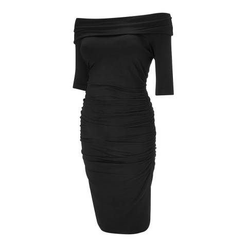 Isabella Oliver Black Clifton Maternity Dress