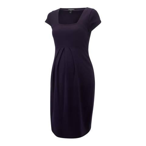 Isabella Oliver Navy Farah Maternity Shift Dress