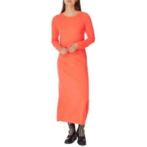 Cocoa Cashmere Chilli Maxi Length Cashmere Dress