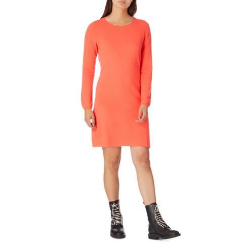 Cocoa Cashmere Chilli Knee Length Cashmere Dress