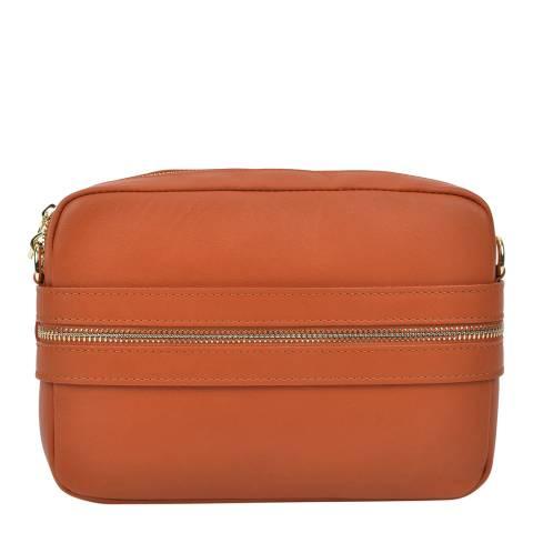 Roberta M Roberta M Orange Small Shoulder Bag