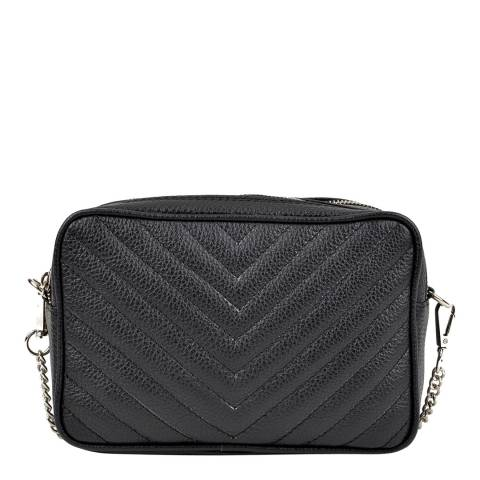 Isabella Rhea Isabella Rhea Black Quilted Shoulder Bag