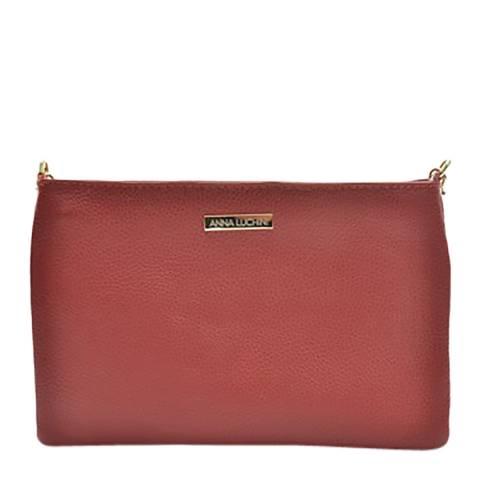 Anna Luchini Anna Luchini Red Shoulder Bag