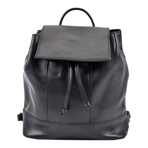Roberta M Roberta M Black Relaxed Backpack