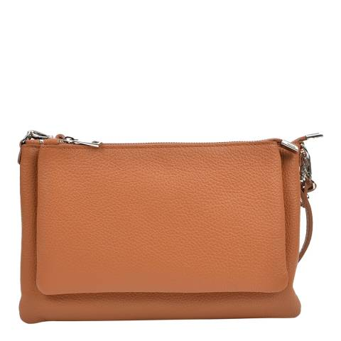 Anna Luchini Anna Luchini Tan Shoulder Bag
