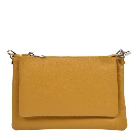Anna Luchini Anna Luchini Mustard Shoulder Bag
