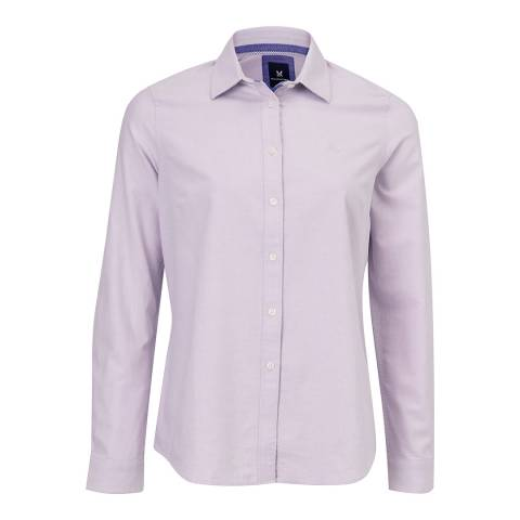 Crew Clothing Lavender Oxford Classic Shirt