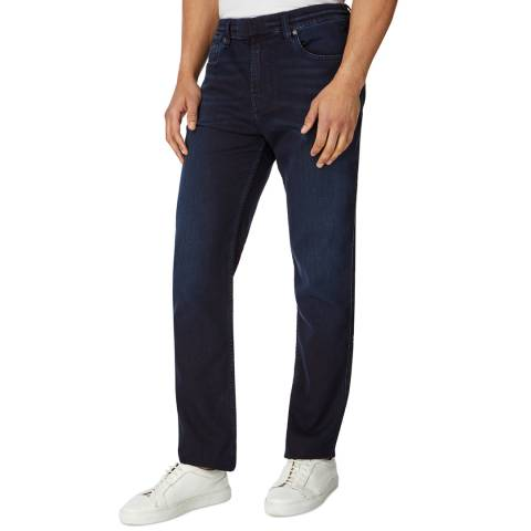 7 For All Mankind Navy Ryan Stretch Slim Jeans