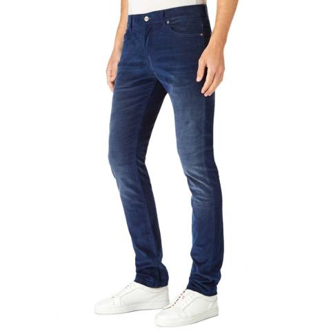 7 For All Mankind Dark Blue Ronnie Stretch Skinny Jeans