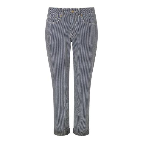 Baukjen Navy/White Hanbury Relaxed Pants