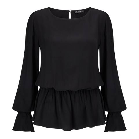 Baukjen Black Monique Relaxed Top