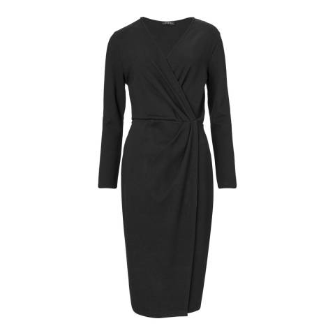 Baukjen Black Gracen Wrap Dress