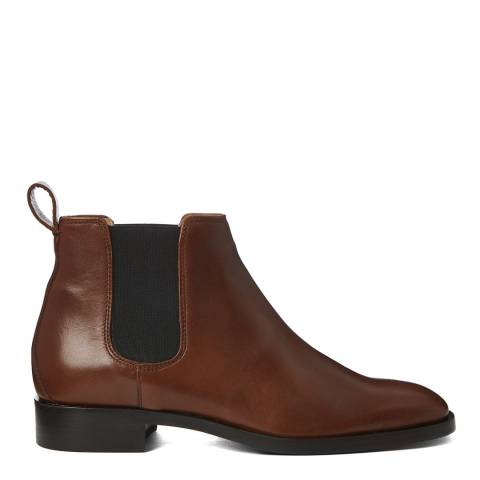 Hobbs London Tan Texas Wren Chelsea Boot