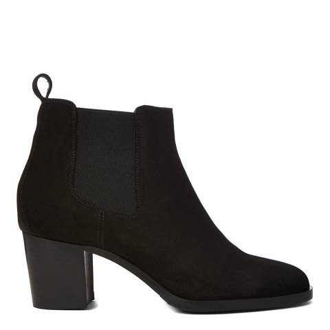 Hobbs London Black Suede Blake Chelsea Boot