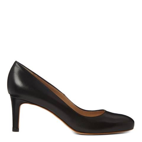 Hobbs London Black Lizzie Court Shoe