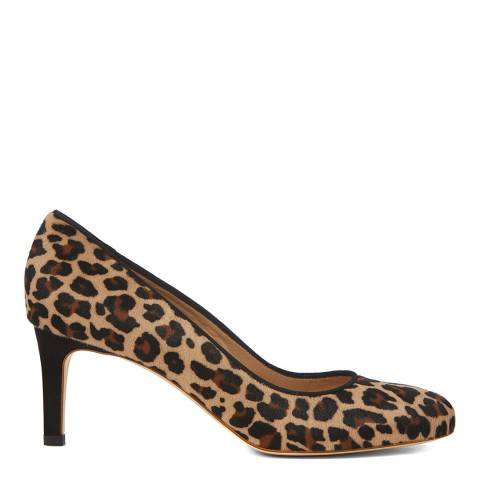 Hobbs London Leopard Lizzie Court Shoe