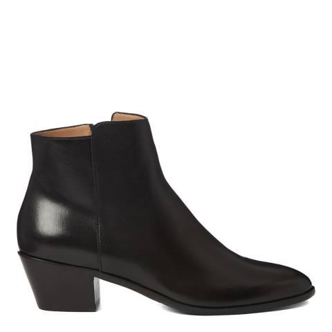 Hobbs London Black Frankie Western Ankle Boot