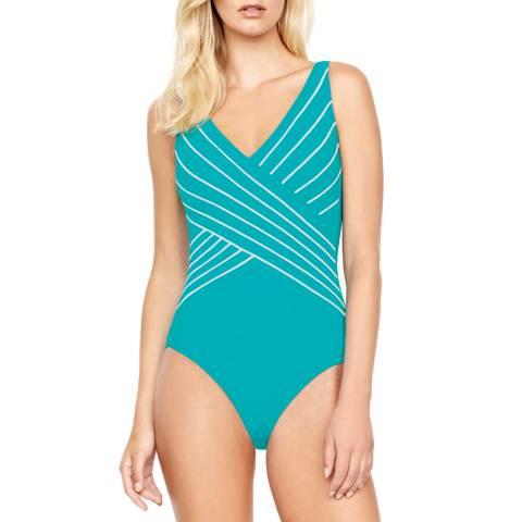 Gottex Jade Essence Surplice Swimsuit