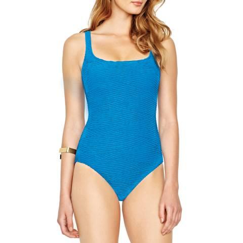 Gottex Azure Essence Square Neck Swimsuit