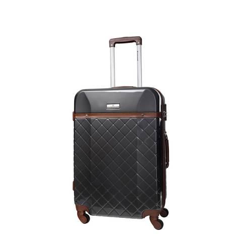 Platinium Platinum White Trendy 4 Wheeled Suitcase
