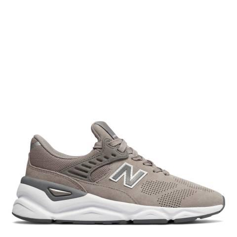 New Balance Grey X90 Sneakers