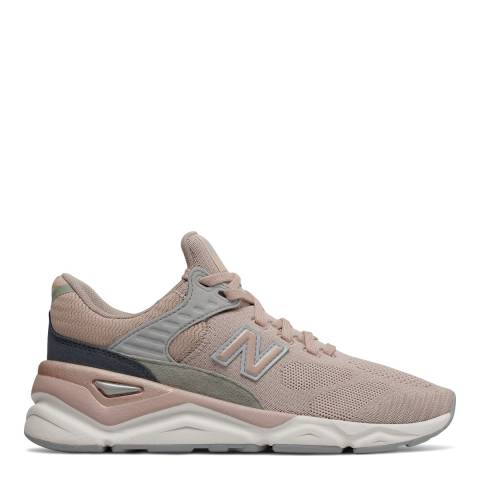 New Balance Pink & Grey X90 Sneakers