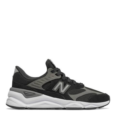 New Balance Black Mesh Deconstructed X90 Sneakers