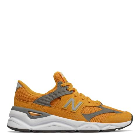New Balance Orange Mesh X90 Sneakers