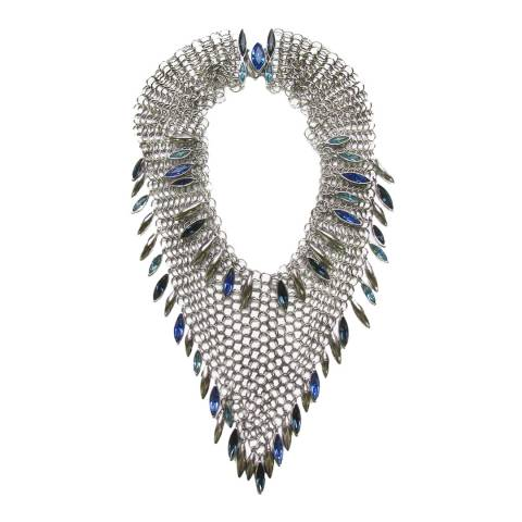 Simon Harrison Minerva Navette Chainmail Necklace Medium