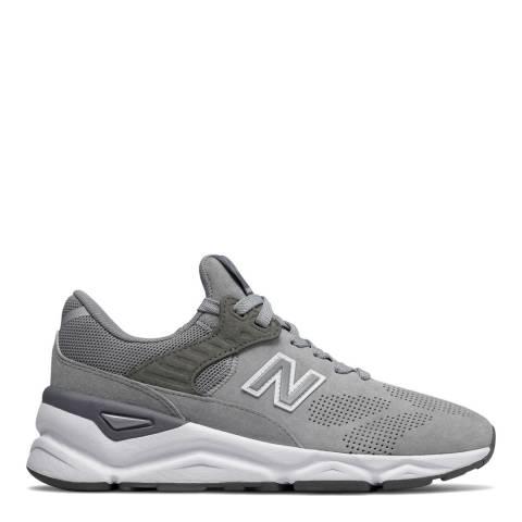 New Balance Grey X-90 Classic Sneaker