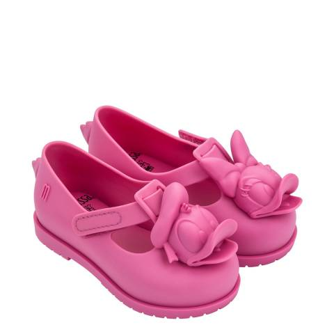 Mini Melissa Pink Daisy Mini Disney Classic Shoes