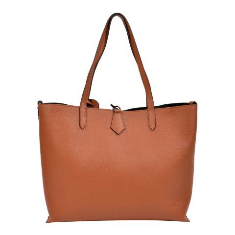 Isabella Rhea Cognac Leather Tote bag