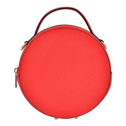 Isabella Rhea Red Shoulder Bag