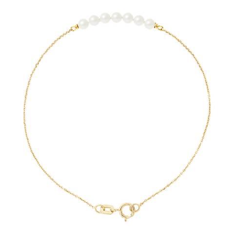 Ateliers Saint Germain Yellow Gold Freshwater Pearl Bracelet