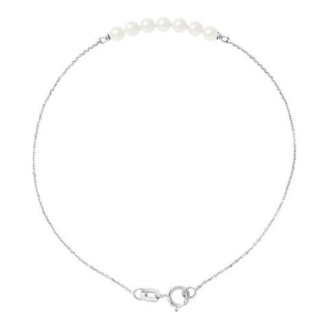 Ateliers Saint Germain White Gold Freshwater Pearl Bracelet