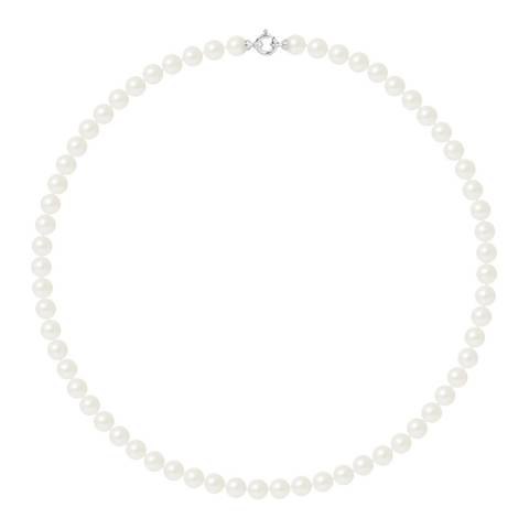 Ateliers Saint Germain White Gold Freshwater Pearl Necklace 7-8mm