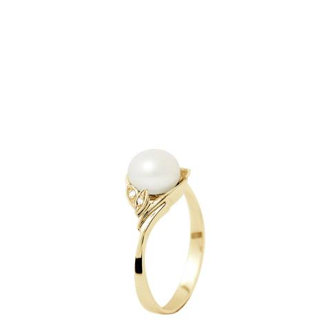 Ateliers Saint Germain Yellow Gold Freshwater Pearl Ring