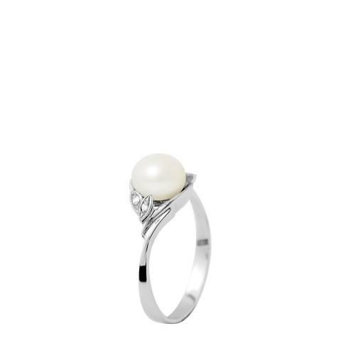 Ateliers Saint Germain White Gold Freshwater Pearl Ring 7-8mm