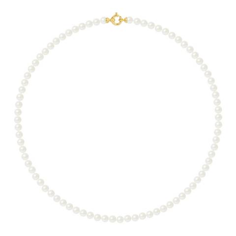 Ateliers Saint Germain Yellow Gold Freshwater Pearl Necklace 5-6mm
