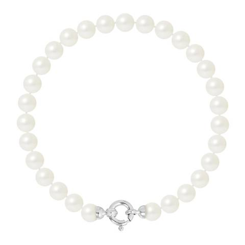 Ateliers Saint Germain White Gold Freshwater Pearl Bracelet 6-7mm