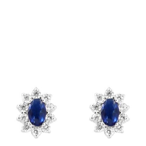 Wish List Sapphire Zirconium Oxides Earrings