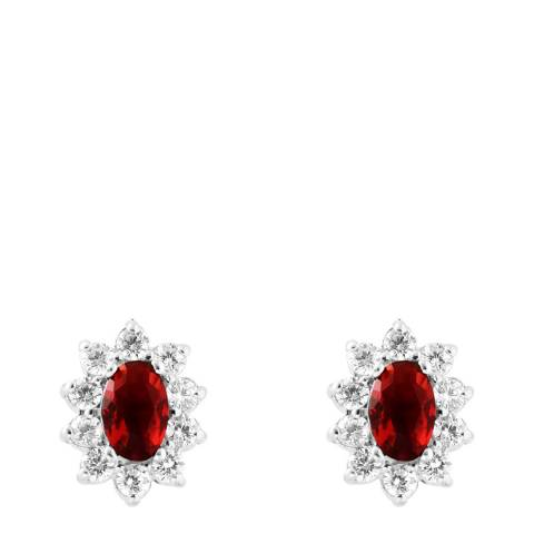 Wish List Ruby Zirconium Oxides Earrings